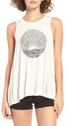 Women's Billabong The Sea Is Calling Graphic Tank $24.95 thestylecure.com