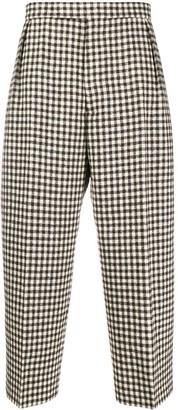 Vivienne Westwood gingham check trousers
