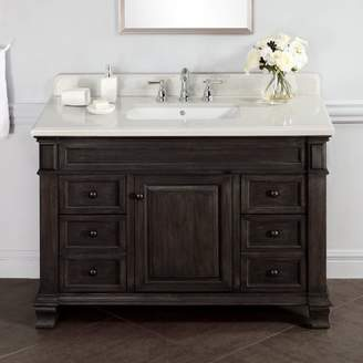 "Laurèl Foundry Modern Farmhouse Lake Park 48"" Single Bathroom Vanity Set"