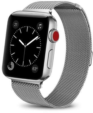 Giant Audio Milanese Loop for Apple Watch Band Series 1, 2, and 3 (42mm) Silver