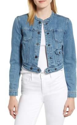 Habitual Remy Crop Denim Jacket