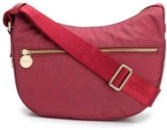 Borbonese printed saddle shoulder bag