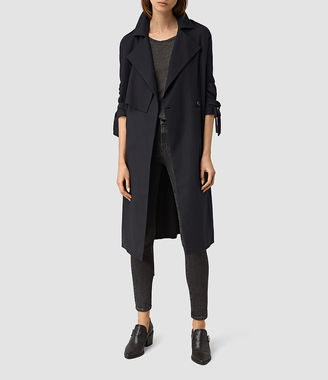 Kiana Mac Coat $468 thestylecure.com
