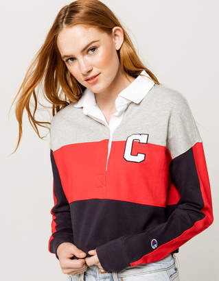 Champion Rugby Womens Crop Polo Shirt