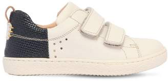 Ocra Leather Strap Sneakers