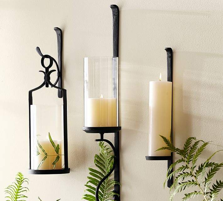 Artisanal Wall-Mount Candleholder