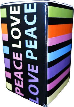 Asstd National Brand Peace & Love Toothbrush Holder