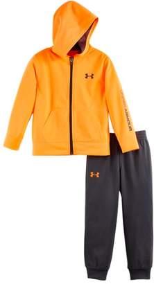 Under Armour Boys' Infant UA Symbol Hooded Track Suit