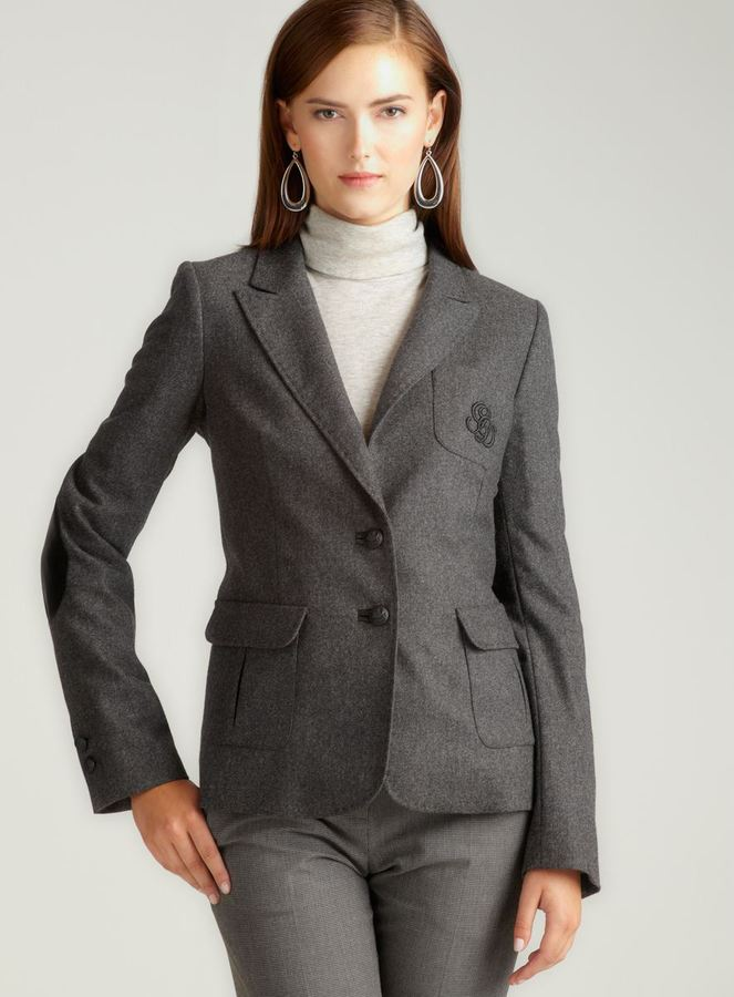 Gerard Darel Two Button Blazer