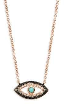 Saks Fifth Avenue 14K Gold & Diamond Pendant Necklace
