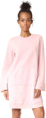 Clu Clu Too Bell Sleeve Sweatshirt Dress $187 thestylecure.com