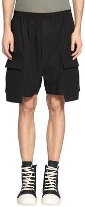 Rick Owens Cargo Boxer Cotton Shorts
