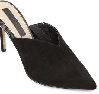 Miss Selfridge Lychee stiletto mules