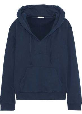Skin French Cotton-Terry Hooded Pajama Top
