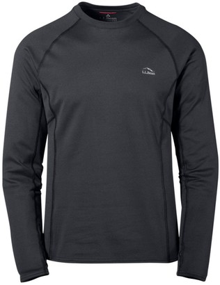 L.L. Bean Men's L.L.Bean Midweight Base Layer Crew, Long Sleeve