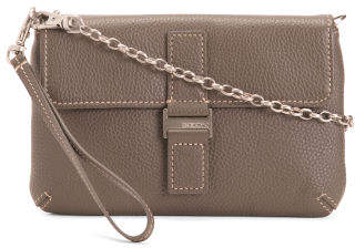 Kylie Convertible Mini Leather Crossbody