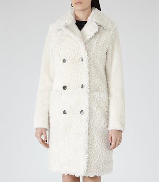 Clemi LONG SHEARLING COAT $2,435 thestylecure.com