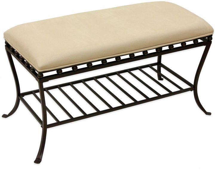 Bed Bath & BeyondChandler Oversized Vanity Bench in Bronze
