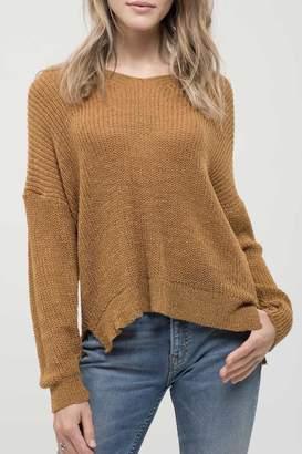 Blu Pepper Bees Braided Sweater