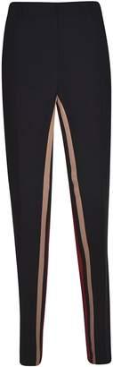 N°21 N.21 Inner Stripe Cropped Trousers