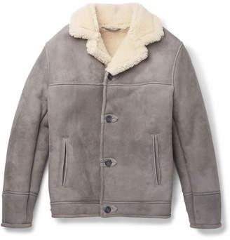 Kingsman - Statesman Shearling Jacket - Men - Gray