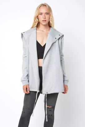 Blank NYC Sweatshirt Open Jacket
