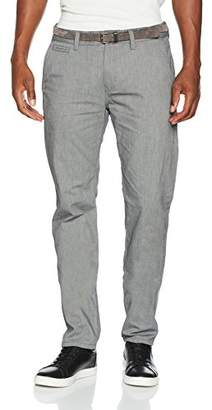 Tom Tailor Men's Travis Casual Chino W/Belt Trouser,W30/L34