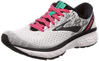 Brooks Women's Ghost 11 Running Shoe (BRK-120277 1B 4085070 8 Gry/SIL/WHT)