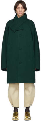 Kiko Kostadinov Green Padded Midnight Coat