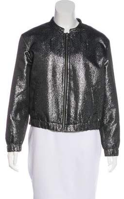Paige Rosie HW x Zip-Up Bomber Jacket
