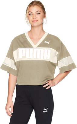 Puma Women's Urban Sports Cropped T-Shirt