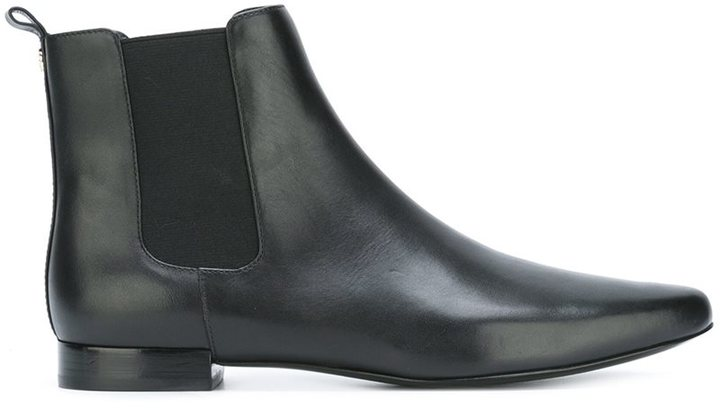 Tory Burch pointy chelsea boots
