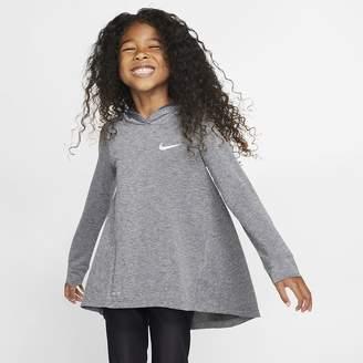 Nike Little Kids' Long-Sleeve Hooded Top Dri-FIT