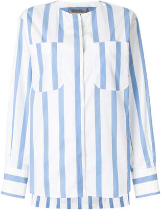 Sportmax striped fitted blouse