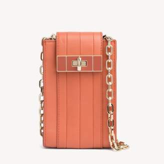 Tommy Hilfiger Convertible Leather Crossbody Bag