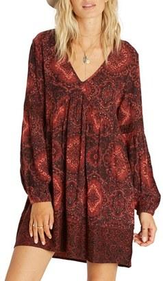 Billabong Clearest Melody Paisley Babydoll Dress $54.95 thestylecure.com