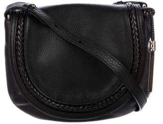 Michael Kors Grained Leather Saddle Bag