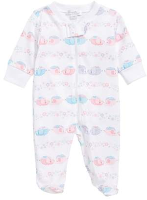 Kissy Kissy Eloquent Elephants Footie