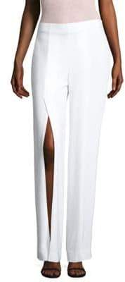 Elie Tahari Slit Wide-Leg Pants