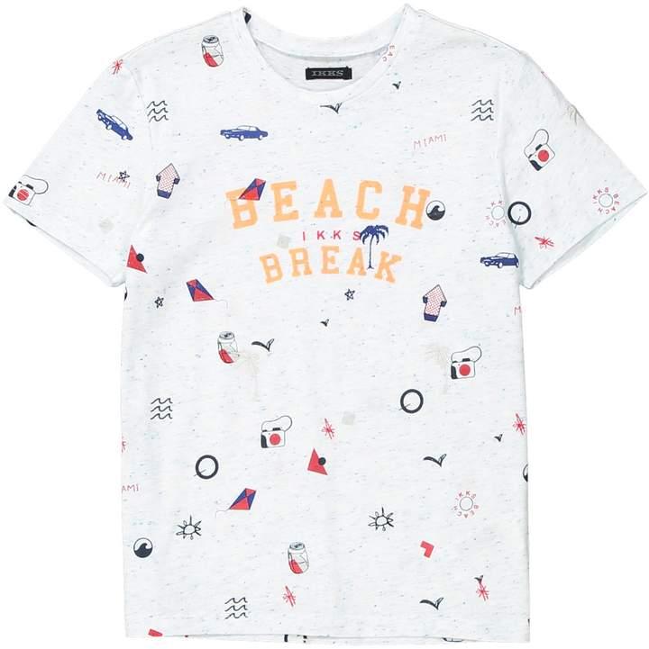 IKKS JUNIOR Printed Crew Neck T-Shirt, 3-14 Years