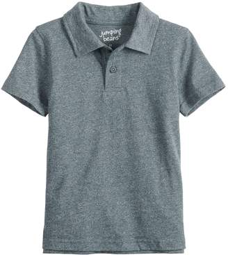 Toddler Boy Jumping Beans Solid Polo