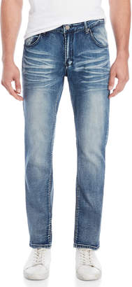 X-Ray X Ray Straight Leg Stretch Jeans