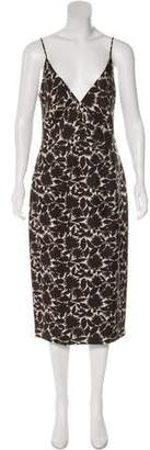 Derek Lam Silk Floral Dress