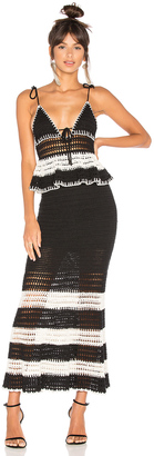 X by NBD Calypso Dress $378 thestylecure.com