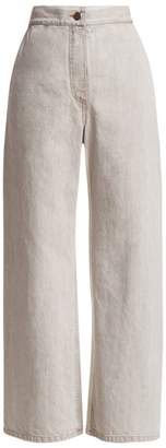 Rachel Comey Bishop High-Rise Wide Leg Crop Jeans