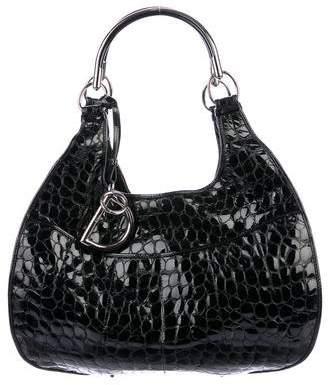 Christian Dior Leather 61 Hobo