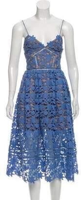 Self-Portrait Azalea Guipure Lace Dress
