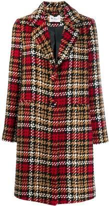 Blumarine Be Houndstooth Coat