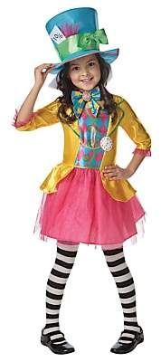 Rubie's Costume Co Mad Hatter Children's Costume, 5-6 years