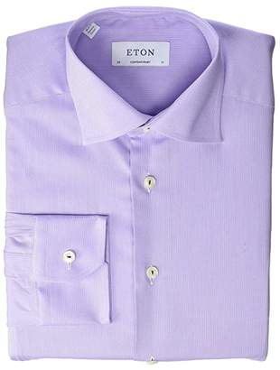 Eton Contemporary Fit Tonal with Colored Piping Shirt